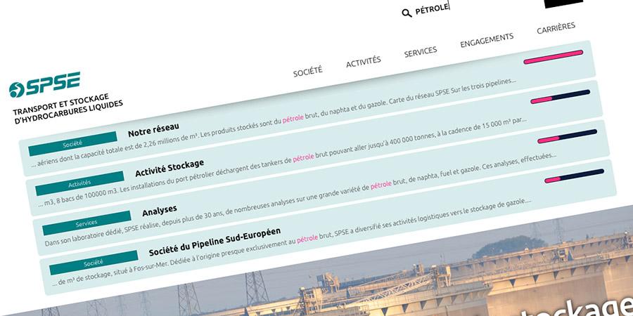 Le moteur de recherche de acromega.com